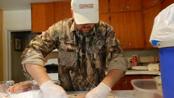 Video: Cooking Wild Turkey--Step 1, Brining for the Smoker Preview Image