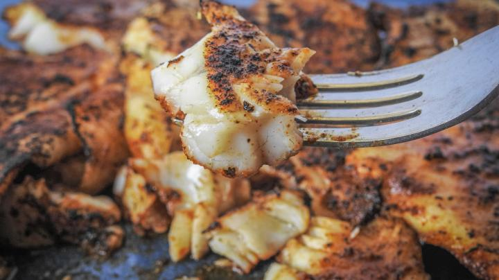 Traeger Blackened Bass Recipe Preview Image