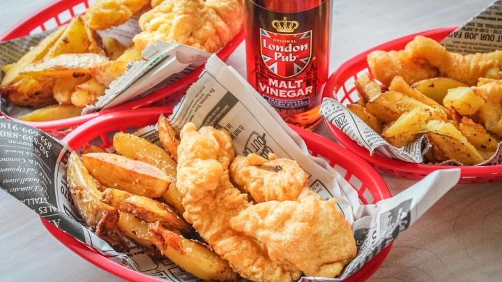 Pub-Style Beer-Battered Fish and Chips Recipe Preview Image