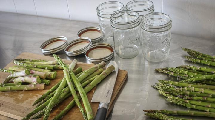 How to Pickle Wild Asparagus Recipe Preview Image
