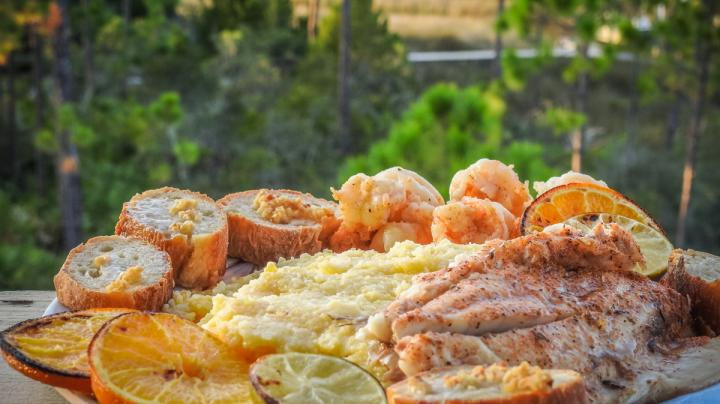 Citrus-Broiled Speckled Trout Recipe Preview Image