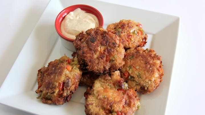 Smoky Fried Catfish Cakes with Spicy Remoulade Sauce Preview Image