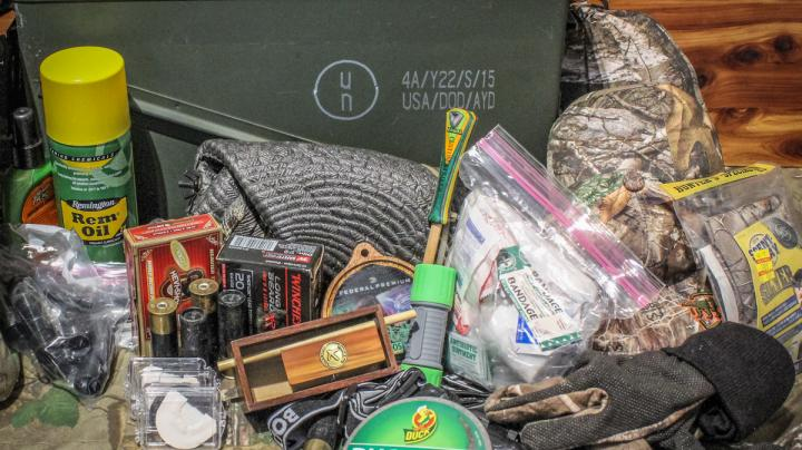 Turkey Hunting Camp Emergency Kit Preview Image