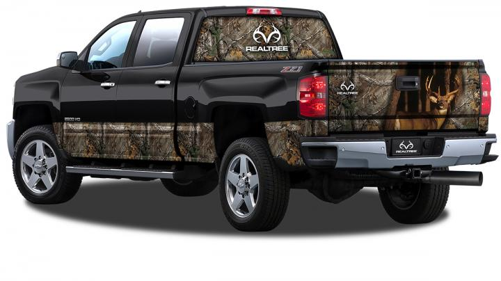 Realtree Camo Vehicle Wrap Preview Image