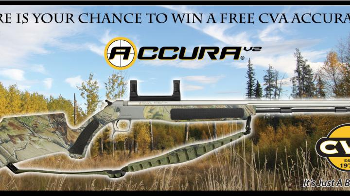 Enter to Win a CVA Accura V2 Muzzleloader in Realtree APG Preview Image