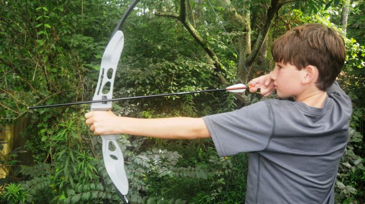 My Kids Test Out the New Easton Beginner Recurve Bow Preview Image