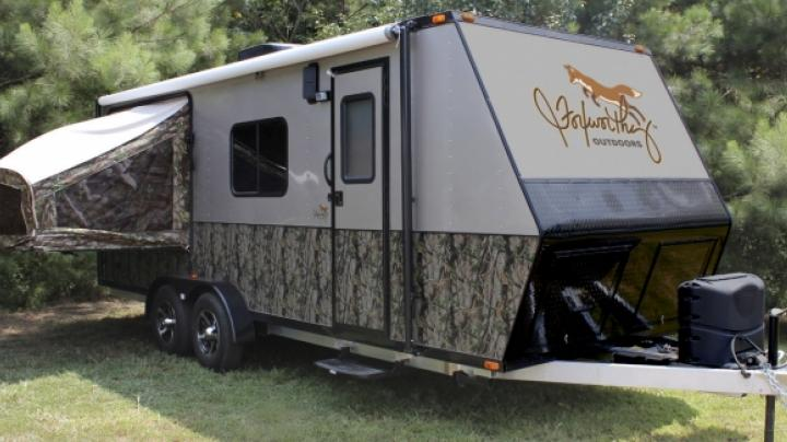 Jeff Foxworthy's New Line of RVs on Display at the Atlanta