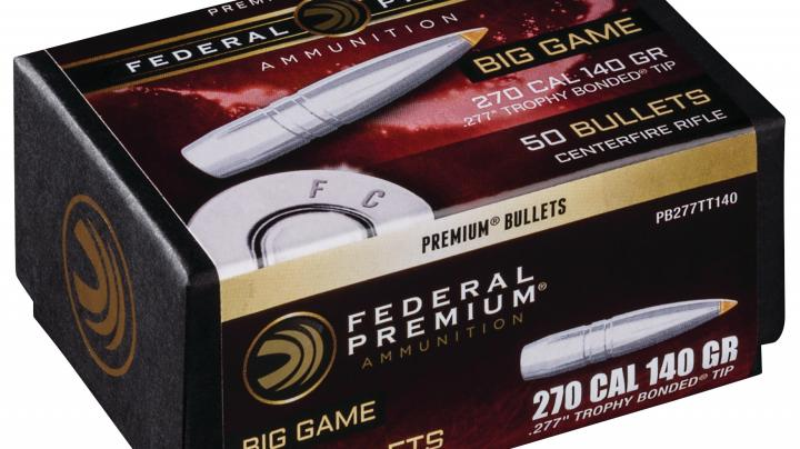 Federal Premium Now Offers Its Trophy Bonded Tip as a Component Bullet Preview Image