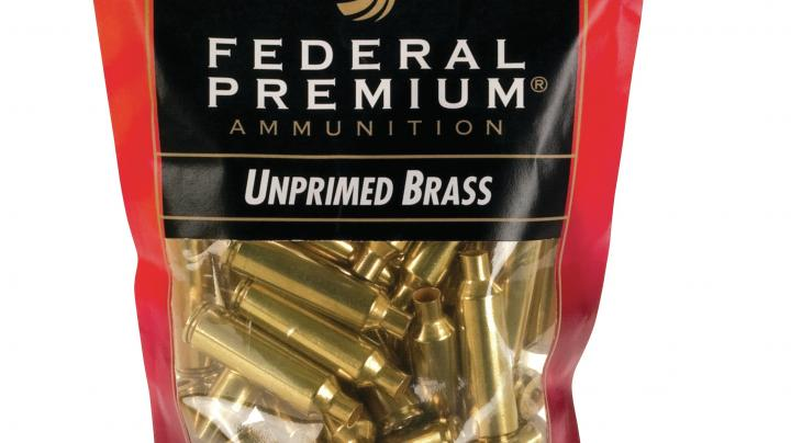 Federal Premium Introduces Unprimed Brass for Handloaders  Preview Image