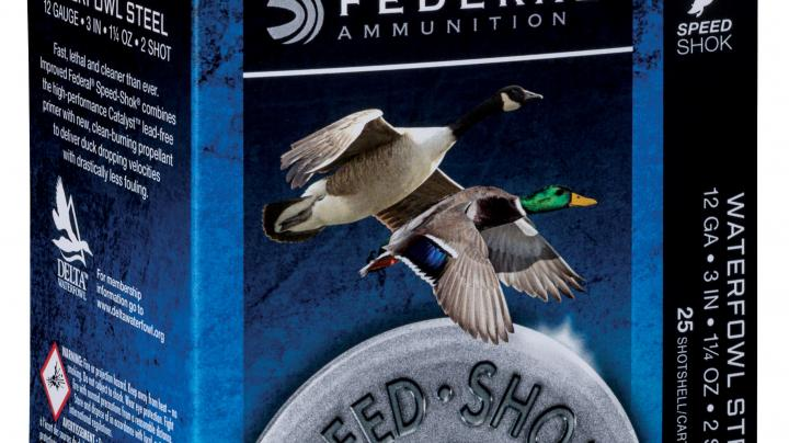 Federal Premium Releases New, Improved Speed-Shok Waterfowl Ammo Preview Image
