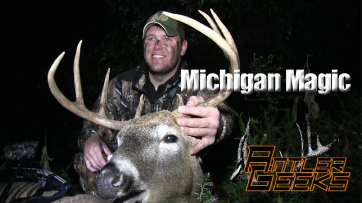 Antler Geeks: Michigan Whitetail Goes Down Preview Image
