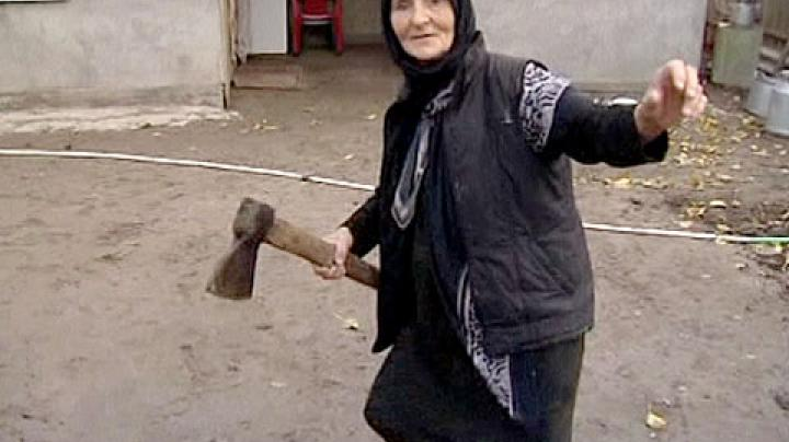 Granny Kills Wolf with an Ax Preview Image