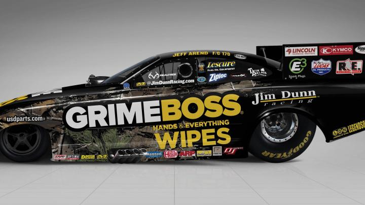 Grime Boss Funny Car Will Feature Realtree® Camouflage Graphics Starting at Indy Preview Image
