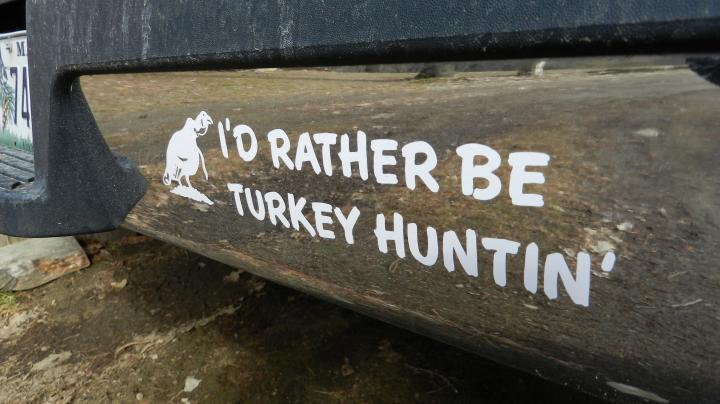 Hunting Bumper Stickers Saved Me Preview Image