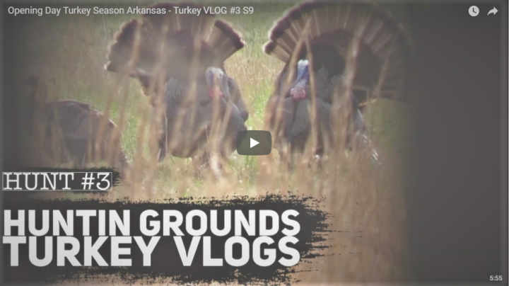 Huntin Grounds Video: Turkey Hunting in Arkansas Preview Image