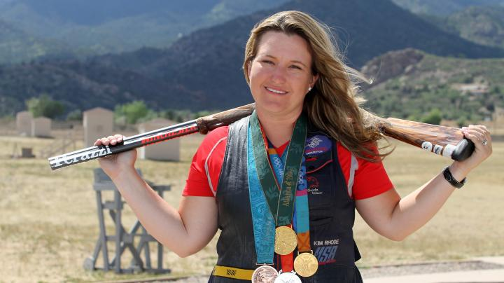 Skeet Shooter Kimberly Rhode Medals in Five Consecutive Olympics Preview Image