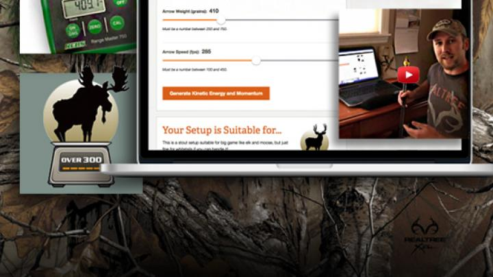 Realtree.com's new Kinetic Energy and Momentum Calculator Unveiled Preview Image