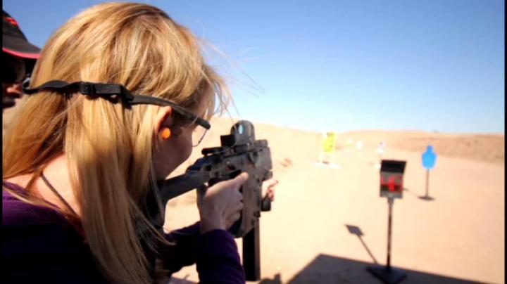 Shooting a Machine Gun for the First Time Preview Image