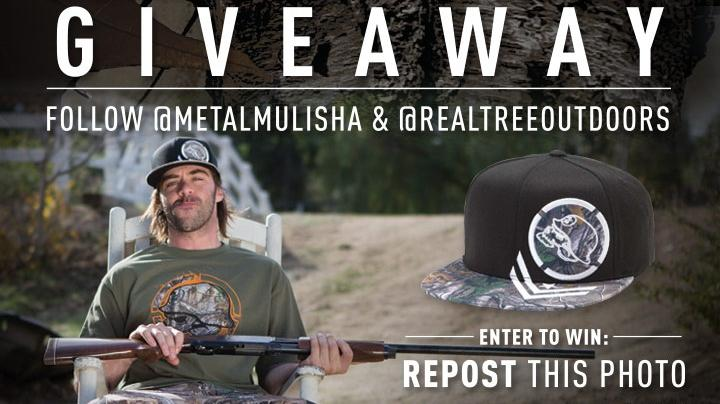 Share for a Chance to Win the Metal Mulisha Realtree Woods Hat Preview Image