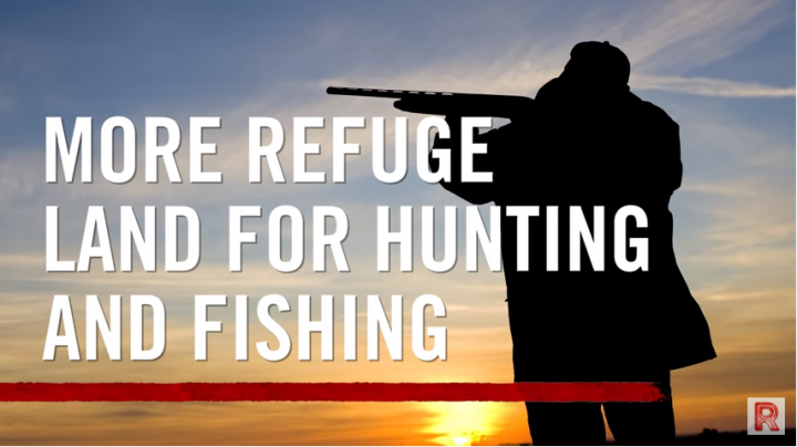Video: More Refuge Land for Hunting and Fishing Preview Image