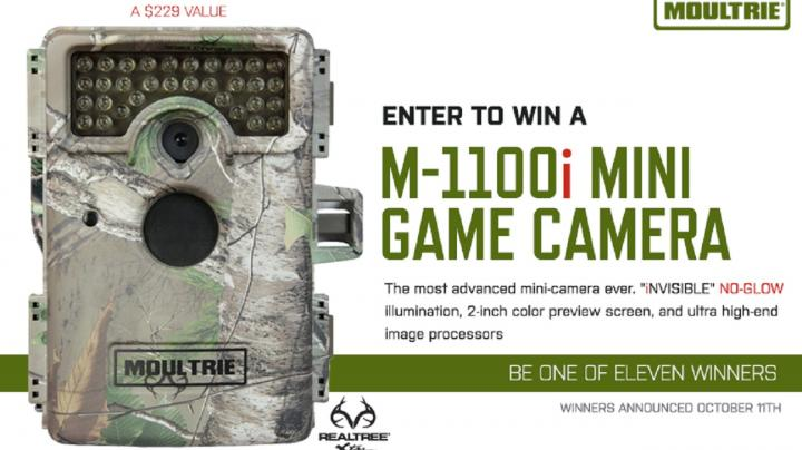 Win a Moultrie 1100i Mini Game Camera Preview Image