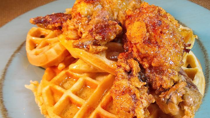 Nashville Hot Chicken Style Fried Quail and Waffles Preview Image