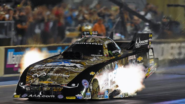 PEAK/Realtree Funny Car Takes 2 out of 3 on NHRA Western Swing Preview Image