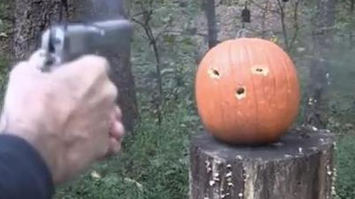 Carving a Pumpkin with a Colt .45 Preview Image