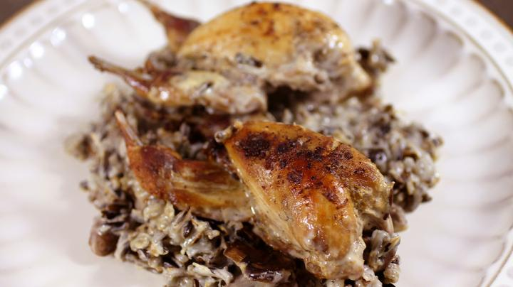 Quail and Wild Rice with Mushroom Gravy Preview Image
