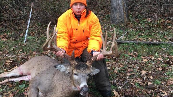 Girl Kills 210-Inch Deer for Her First Buck Preview Image