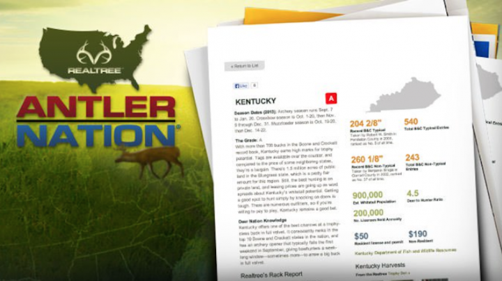 The 2018 Realtree Antler Nation State Grades Are In Preview Image