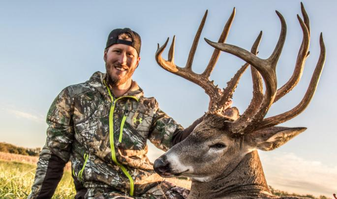 Deer Hunter Tags Double-Beam Buck with a Bow Preview Image