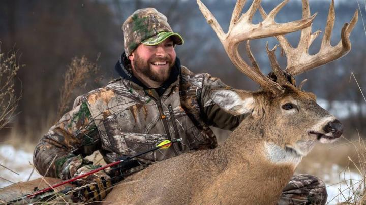 Bowhunter Arrows Giant Buck on Very Pressured Property Preview Image