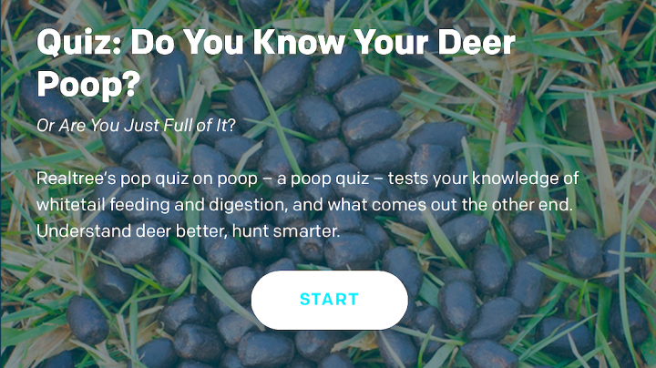 Quiz: Do You Know Your Deer Poop? Preview Image