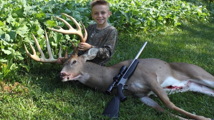 7-Year-Old Kid Kills 180-Inch Buck Preview Image
