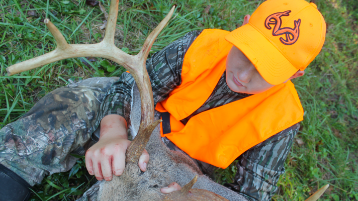 The Reason for the Hunt: Youth Deer Hunter Kills Big Buck  Preview Image