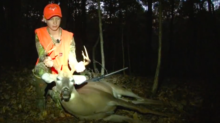 Youth Hunter Gets His First Buck Preview Image