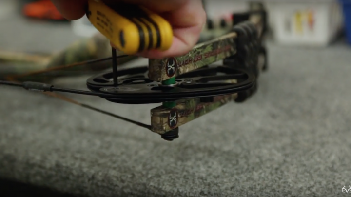 Bowhunting Tip: Checking the Bolts on a Compound Bow Preview Image