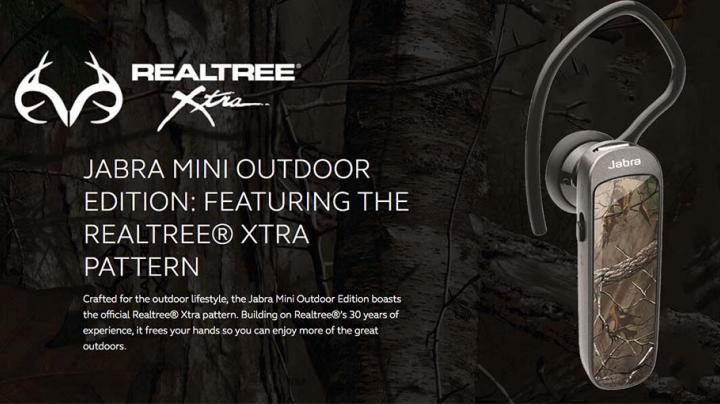 Jabra Mini Outdoor Edition – Clear talk technology for all your outdoor hands free calls. Preview Image