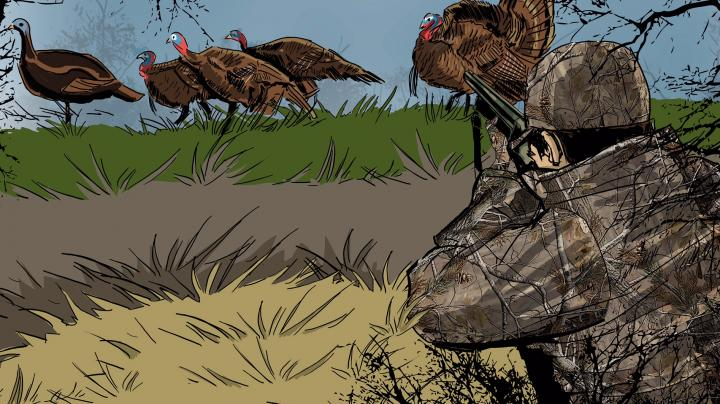 Artist Ryan Orndorff Illustrates His First Successful Turkey Hunt Preview Image