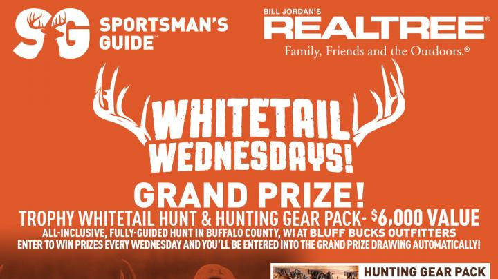 Sportsman's Guide Whitetail Wednesdays Giveaway Preview Image