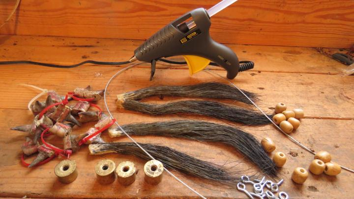 Turkey Hunting: How to Make Turkey Beard and Spur Ropes Preview Image