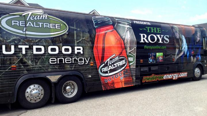 Team Realtree Outdoor Energy Sponsors The Roys Bluegrass Band Preview Image