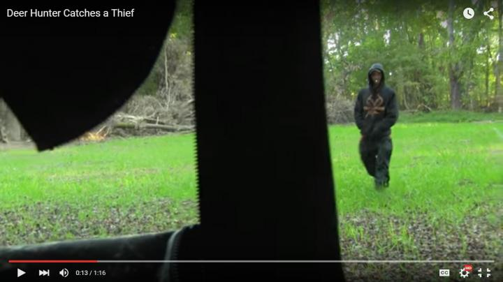 Ground Blind Hunter Films Realtree-Clad Thief In Food Plot Preview Image