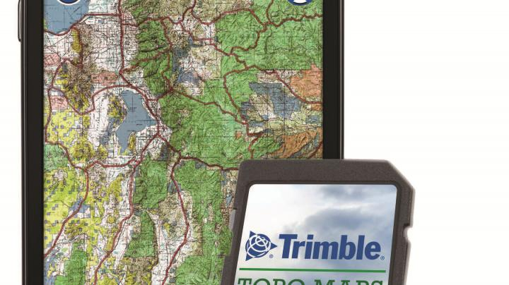 Trimble Launches GPS Hunt Topo Map SD Cards for Hunters Preview Image