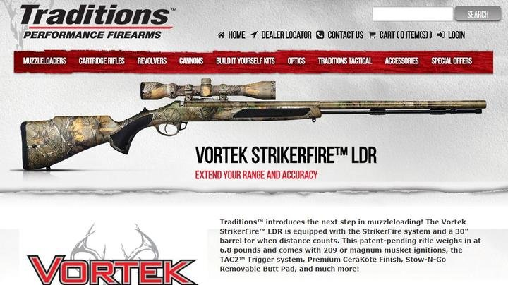 """Traditions Performance Firearms Announces """"GO HUNT GIVEAWAY"""" Preview Image"""