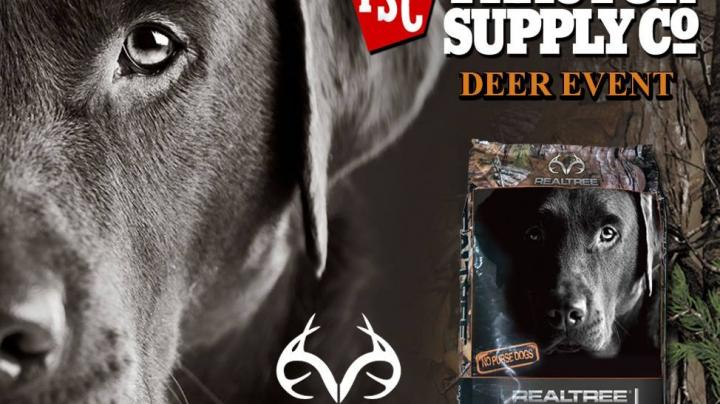 Realtree® High Performance Dog Food Available  At Tractor Supply Stores in the US Preview Image