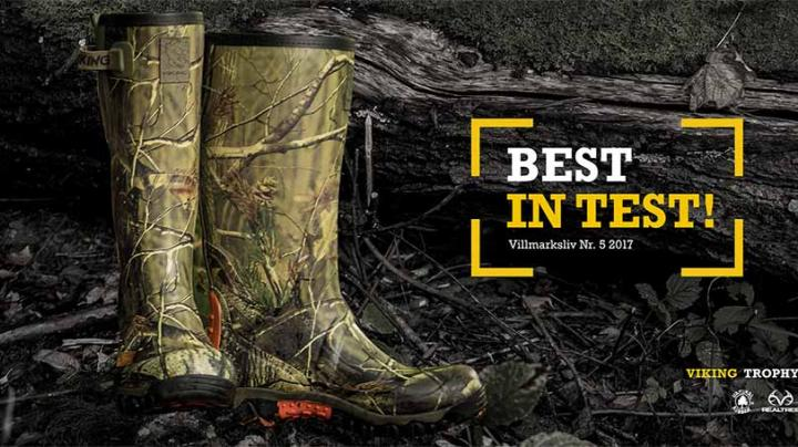 Viking's Trophy Realtree Camo Boots crowned Best in Test! Preview Image