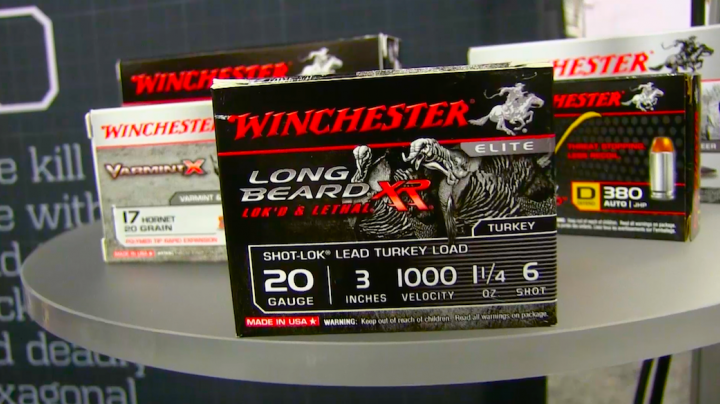 Winchester's New Long Beard XR 20-Gauge Turkey Load  Preview Image