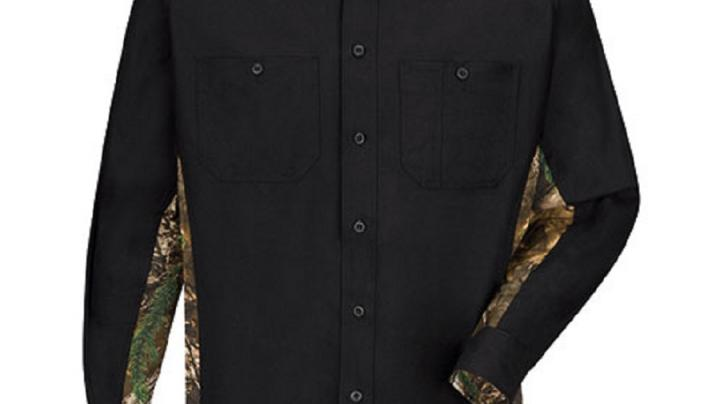 Wrangler Workwear™ Work Shirt with Realtree Camo now available on jcpenney.com Preview Image